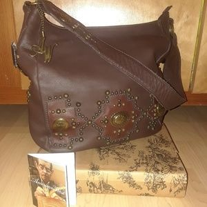 American West Chocolate Leather Bag